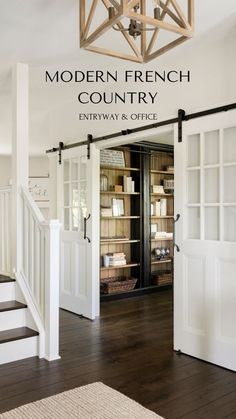 Modern French Country, French Country Kitchens, French Country Bedrooms, French Country Living Room, French Country Farmhouse, French Cottage, Country Bathrooms, Farmhouse Interior, Country Modern Decor