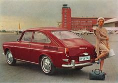 VW type 3, Hatchback...My Brother in law had one of these,a automatic. (: Rip Dennis
