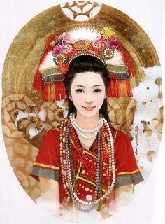 Gaoshan Woman (in Taiwan)     dress and accessories