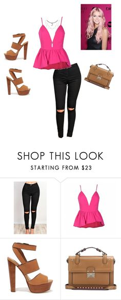 """Sakura"" by brendha-san ❤ liked on Polyvore featuring beauty, Ally Fashion, Steve Madden and Valentino"