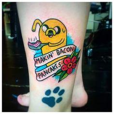 """SIM.   38 tatuagens de """"Hora de Aventura"""" que representam a amizade eterna"""