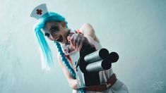 Nurse Jinx (League of Legends) cosplay by MartyCos-Art