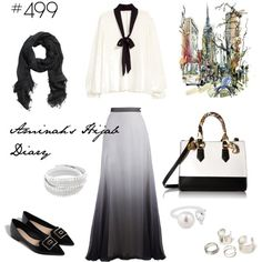 #499 This is me by aminahs-hijab-diary on Polyvore featuring ALDO, Simply Silver and H&M
