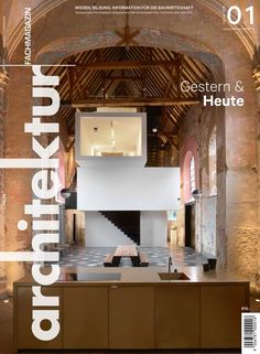 Klaarchitectuur inserts new architecture studio inside dilapidated Belgian chapel - ▪️Church Conversions▪️ Architecture Design, Architecture Awards, Religious Architecture, Architecture Office, Architecture Interiors, Home Design, Interior Design, Room Interior, Church Conversions
