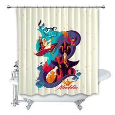 Best Selling Harry Potter Spells Shower Curtain 48x72 60x72 66x72 Luxury Design