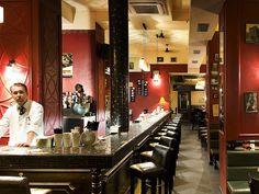 Tretter's #prague #bar # nightlife #cocktail Prague Nightlife, Men Stuff, City Break, Night Life, Places To Go, Cocktails, Bar, Mirror, Man Stuff