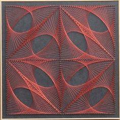 Handmade home decor (wall art) - string art venues using copper . - Handmade Home Decor (Wall Art) – String Art Venues Using Copper -
