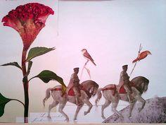 Výlet koláž 90 x 70 cm by Jana Černochová Collage, Painting, Inspiration, Art, Biblical Inspiration, Art Background, Collages, Painting Art, Kunst