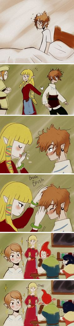 Don't be jealous, Groose, The Legend of Zelda: Skyward Sword artwork by Alderion-Al