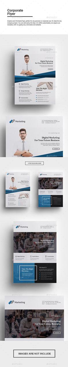 ▬ [GET]◼ Corporate Flyer Agency Business Corporate Creative Design Digital Psd Flyer Templates, Business Flyer Templates, Text Tool, Information Graphics, Corporate Flyer, Print Design, Graphic Design, Portfolio Design, Flyer Design