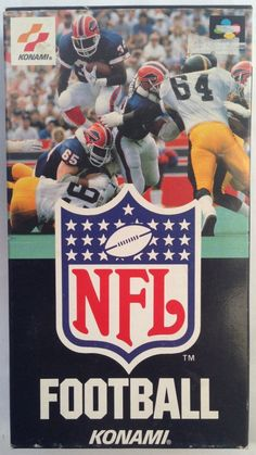 #SuperFamicom :  NFL Football ( SHVC-NF ) http://www.japanstuff.biz/ CLICK THE FOLLOWING LINK TO BUY IT ( IF STILL AVAILABLE ) http://www.delcampe.net/page/item/id,0377502982,language,E.html
