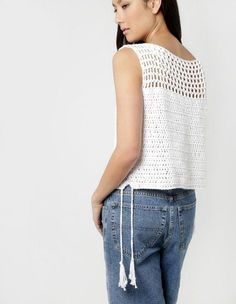 Verano Tejido en Crochet - 45 Camisetas Divinas | Otakulandia.es
