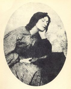 Elizabeth Siddal (1829-1852) English artist's model, poet and artist, was the model for Sir John Everett Millais's Ophelia. She was painted and drawn extensively by the Pre-Raphaelite Brotherhood.