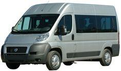 Le Minibus #Ducato de chez #Fiat est un véhicule spacieux permettant le transport de marchandises
