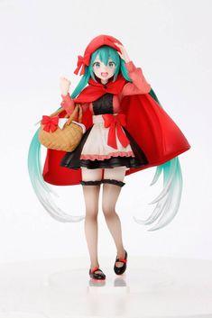 2021-06-Vocaloid PVC Statue Hatsune Miku Little Red Riding Hood Ver. 1 – Geeky AF Little Red Riding, Red Riding Hood, Hatsune Miku, Itachi, Naruto, Dr. Seuss, Anime Store, Big Plush, Winter Festival
