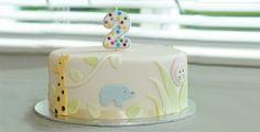 Birthday Parties - cute jungle birthday cake ohbaby.co.nz