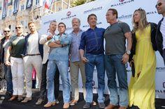 Expendables 3 turn up to Cannes in Armoured Vehicles The Expendables Cast, Expendables Tattoo, Jamie Lee Curtis, Kellan Lutz, Jason Statham, Sylvester Stallone, Arnold Schwarzenegger, Margot Robbie, Scarlett Johansson