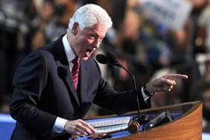 bill clinton democratic convention | Revoir le discours de Bill Clinton à la convention démocrate de ...