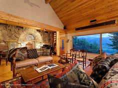 Tour John Denver's Aspen Home  - HouseBeautiful.com
