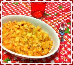 Gnocchi di fiocchi di patate con mozzarella filante | Morena in cucina