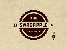 i like the way the SWAGAPPLE text is integrated with the logo, and they have a lil extra logo element off to the side.