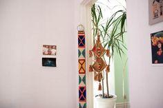 Beautiful way to decorate a doorway.