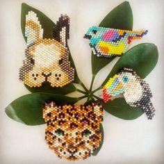 #leopard #bird #rabbit #animal #mycreativebiz #shopsmall #miyukidelica #brickstitch #brooch #broş #bracelet #necklace #kolye #bileklik #miyuki #peyote #peyotestitch #colorful #bracelet #necklace #shopinstagram #handmadewithlove #handmadelove #handmadejewelry #handmade #makersvillage #makersgonnamake #elyapımı #elyapımıtakı #favehandmade #shopsmall #handmadeloves #myjewellery@10marifet