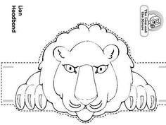 lion headband craft