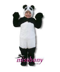 Panda Çocuk Kostümü