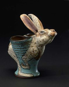 Google Image Result for http://www.lisanaples.com/ceramics/wp-content/uploads/2011/11/Rabbit-vase.jpg