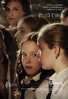 "Movie poster for the Hungarian short ""Mindenki"" (Sing)"