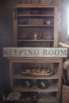 Early looking Antique Primitive KEEPING by MillRiverPrimitives