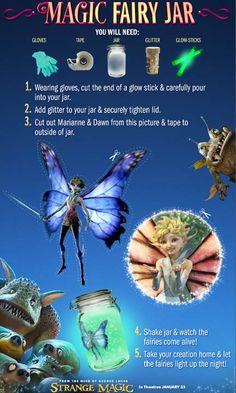 Strange Magic Movie FREE Printables + Recipes #StrangeMagic