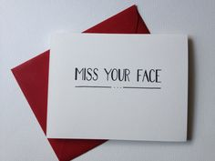 DIY card idea for all the friends I miss....