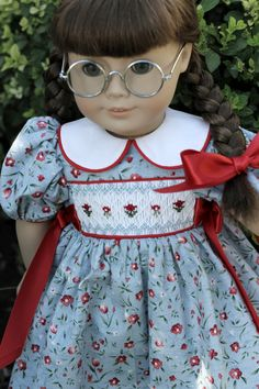 OOAK HandSmocked WWII Era Dress by TheDressmakersDreams  $52.00