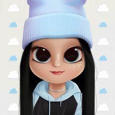 Kawaii Girl Drawings, Cute Disney Drawings, Cute Little Drawings, Cute Girl Drawing, Cartoon Girl Drawing, Art Drawings Sketches Simple, Cool Art Drawings, Cartoon Girl Images, Cute Cartoon Pictures