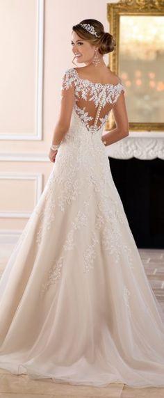 Wedding Dress by Stella York Spring 2017 Bridal Collection-6414B Stella York