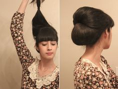 Spring Inspired: Retro Chic Hair Tutorial