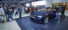 #RollsRoyce Motor Cars redefines super- #luxury bespoke motoring at the #Dubai International Motor Show