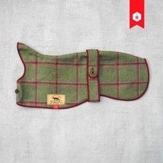 Yorkshire Tweed Sighthound Overcoat | Stylish Dog Coat | HOUNDWORTHY