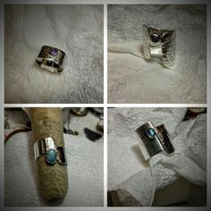 all in a day's work 😀 Day Work, Class Ring, Fine Jewelry, Silver Rings, Carving, Pottery, Gallery, Gifts, Painting