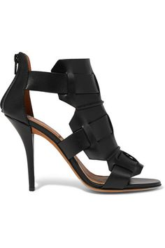 Givenchy | Rojda sandals in black leather | NET-A-PORTER.COM