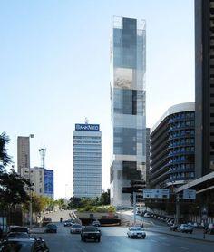 Mirror Tower / LAN Architecture,