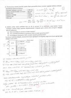 Zemin Mekaniği -1 Final Soruları ve Cevapları (A Grubu)