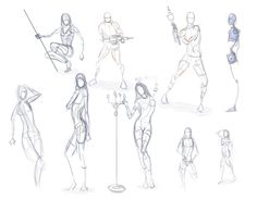 How to draw a female Superhero | Online Drawing Lessons