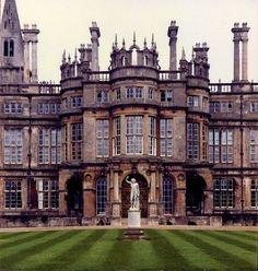 Burghley House, near Stamford, Lincolnshire, England. Burghley House England