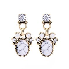 Royalty Marble Earrings