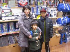 【大阪店】2015.01.05 ご家族でセレクションに遊びに来てくれました☆写真、緊張したのかな?また、皆さんで遊びに来てくださいね~