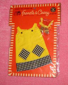 "FRANCIE PAK fashion ""Cool It"" NRFC from 1967"