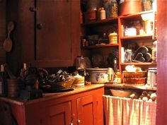 New pantry made to look 19th-century